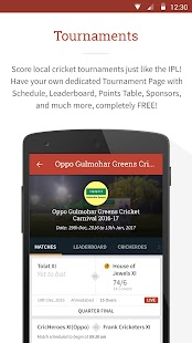 CricHeroes - The Cricket App- screenshot thumbnail