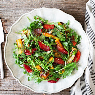 Roasted Carrot, Fennel and Blood Orange Salad