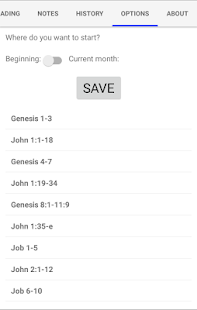 Bible Unity Reading Plan- screenshot thumbnail
