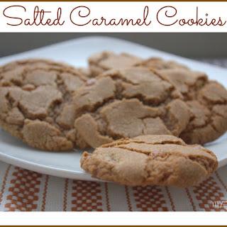 Salted Caramel Cookies.