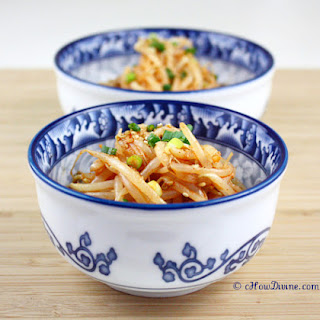 Spicy Mung Bean Salad – Maewoon Sukju Namul