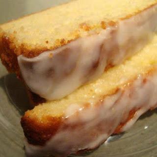 Glazed Lemon Pound Cake