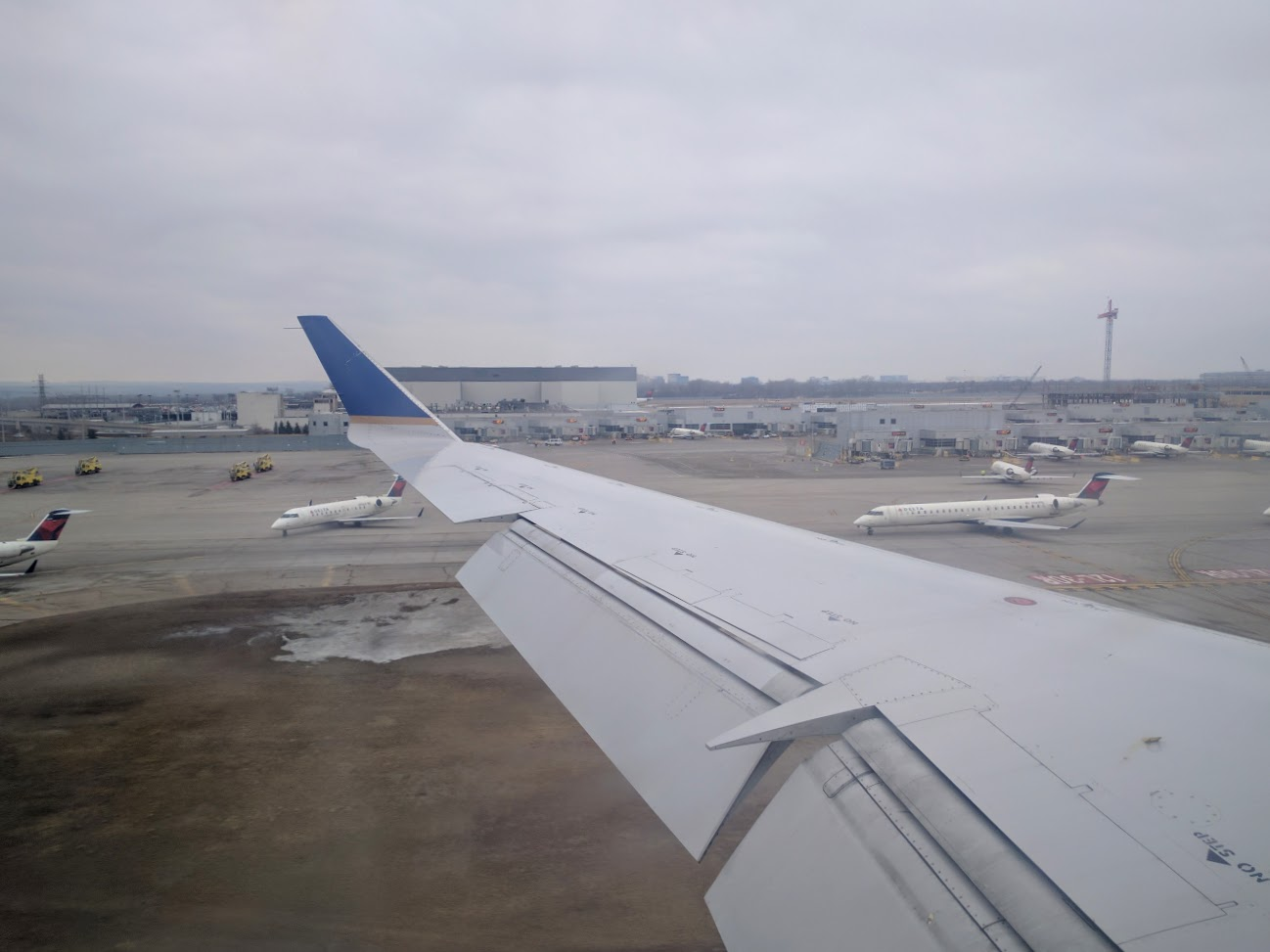 Review of United Express Mesa Airlines flight from