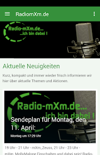 Radio-mxm.de- screenshot thumbnail
