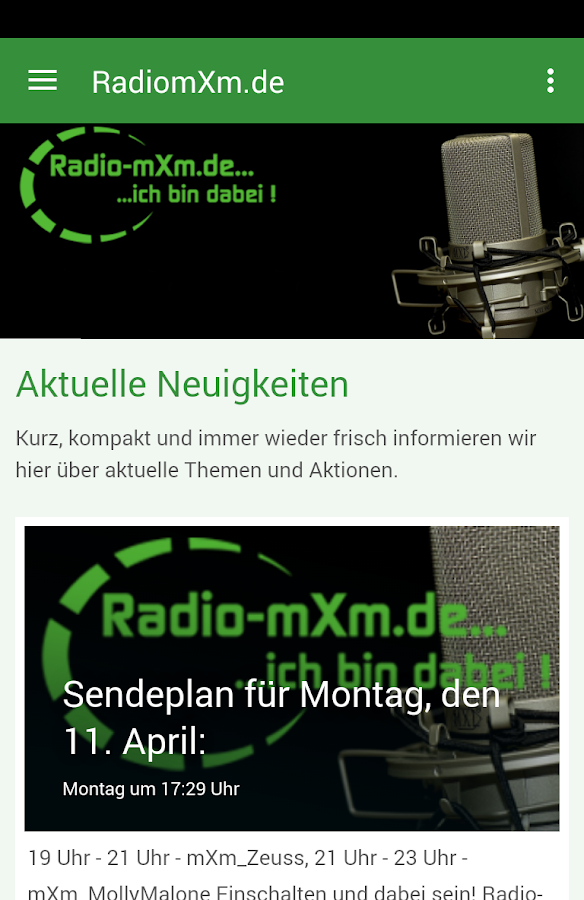 Radio-mxm.de- screenshot