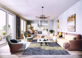 Appartement 3 pièces 76,75 m2