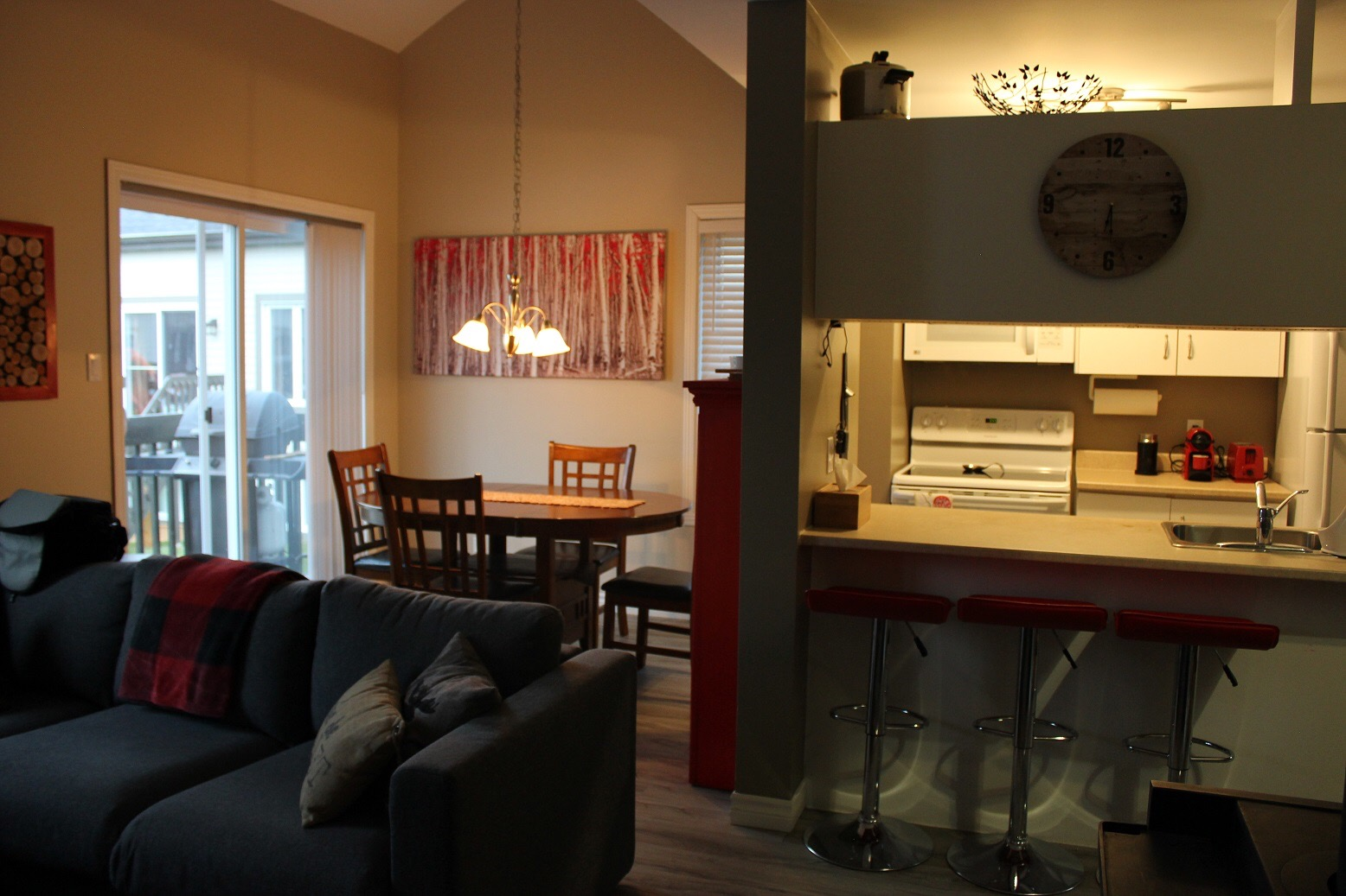 Cottages for rent for 7 people in Quebec #9