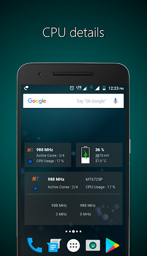 Widgets - CPU | RAM | Battery  screenshots 1