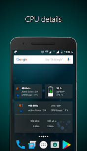 Widgets – CPU | RAM | Battery Apk 1