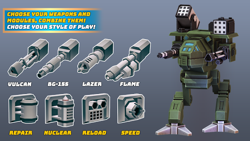 Robots.io - Battle of Titans  screenshots 4