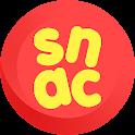 스낵(SNAC) - 스낵 세상의 모든 재미를 선사합니다 icon