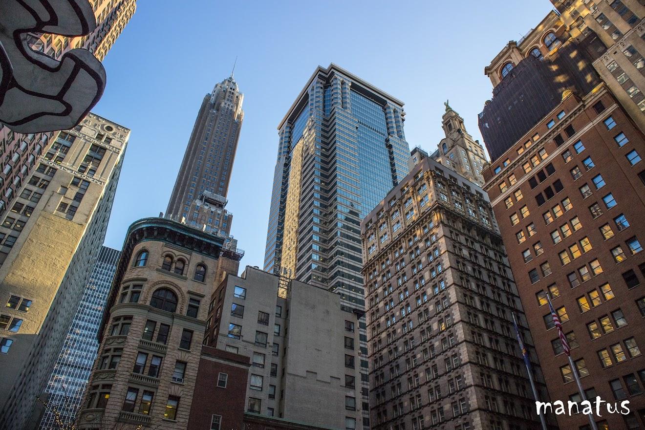Rascacielos desde rockefeller
