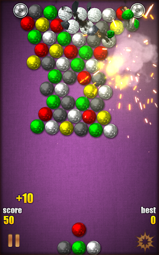Magnetic Balls HD Free: Match 3 Physics Puzzle 2.2.0.9 screenshots 13