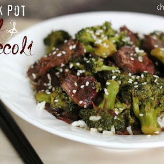 Crock Pot Beef and Broccoli Recipe