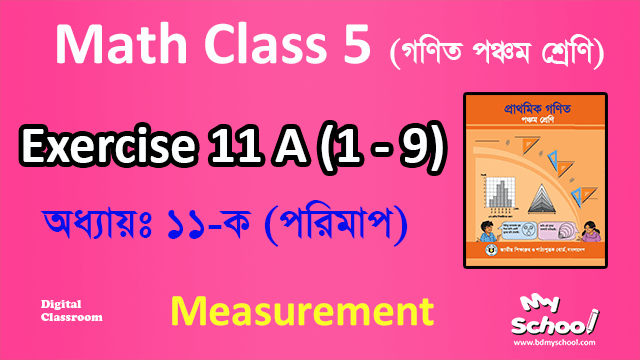Math Chapter 11A Class 5