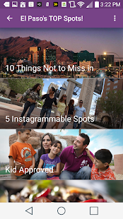 The Official Visit El Paso App- screenshot thumbnail