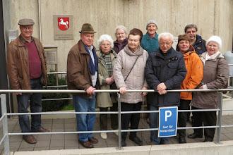 Photo: Besichtigung der Gedenkstätte in der JVA Wolfenbüttel