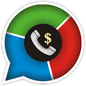 CallsEye-call stats & bill icon