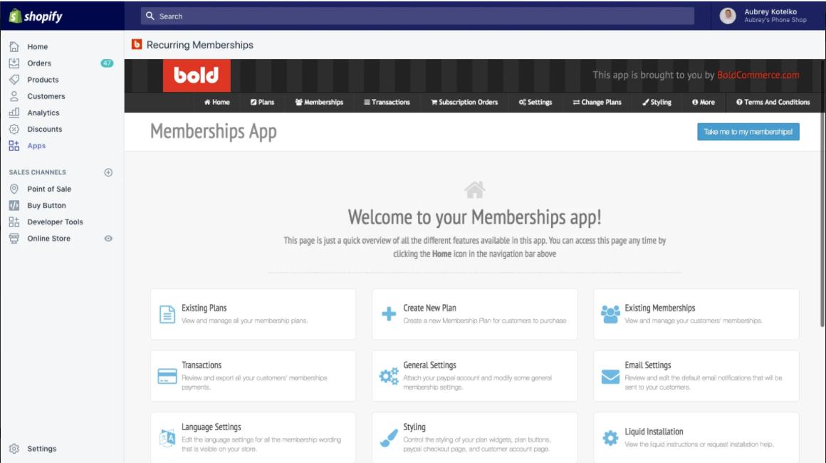 Bold Membership