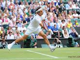 Roger Federer raakt onder stoom en plaatst zich eenvoudig voor kwartfinales op Wimbledon