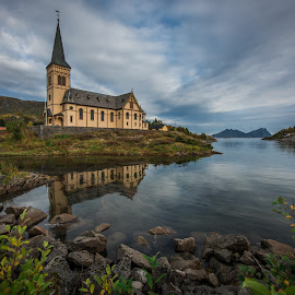 Lofoten cathedral, Kabelvaag, Norway. by Terje Jorgensen - Buildings & Architecture Places of Worship