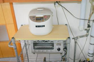 Photo: 炊飯器、トースター rice cooker, toaster 电饭锅,烤面包机