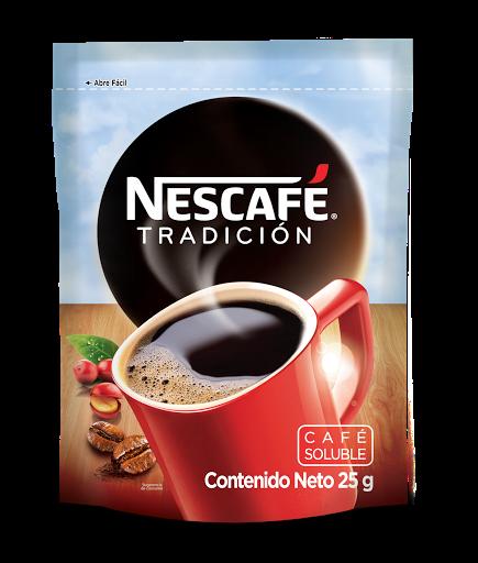 cafe instantaneo nescafe tradicion doypack 25 gr