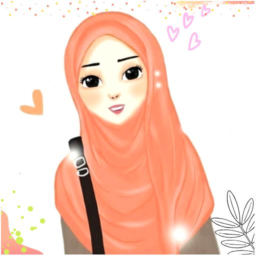 Hijab Cartoon Muslimah Wallpapers Aplikasi Di Google Play