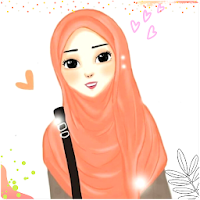 Hijab Cartoon Muslimah Wallpapers