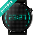 Pixels Watch Face (Donate) icon