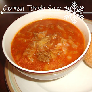 The Villager's German Tomato Soup.