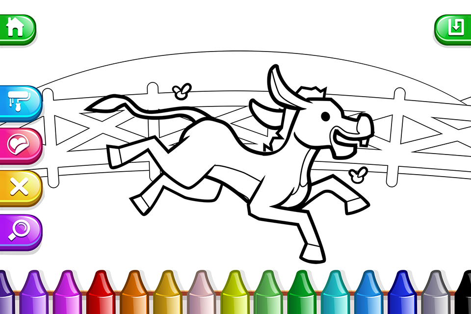 My Coloring Book: Kids - Cute Drawing Game - Android Apps on ...