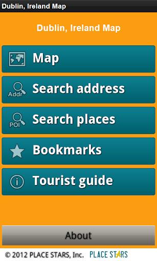 Dublin Ireland Offline Map