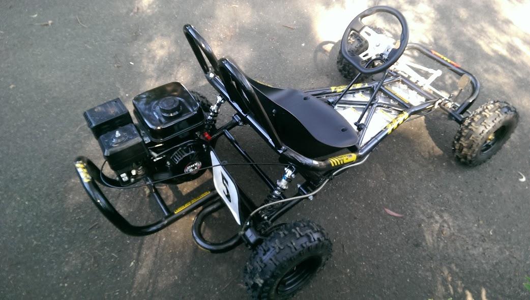 6.5 hp horse power offroad go kart cart bike automatic kids teenagers 4 stroke motoworks sale discount cheap offroad
