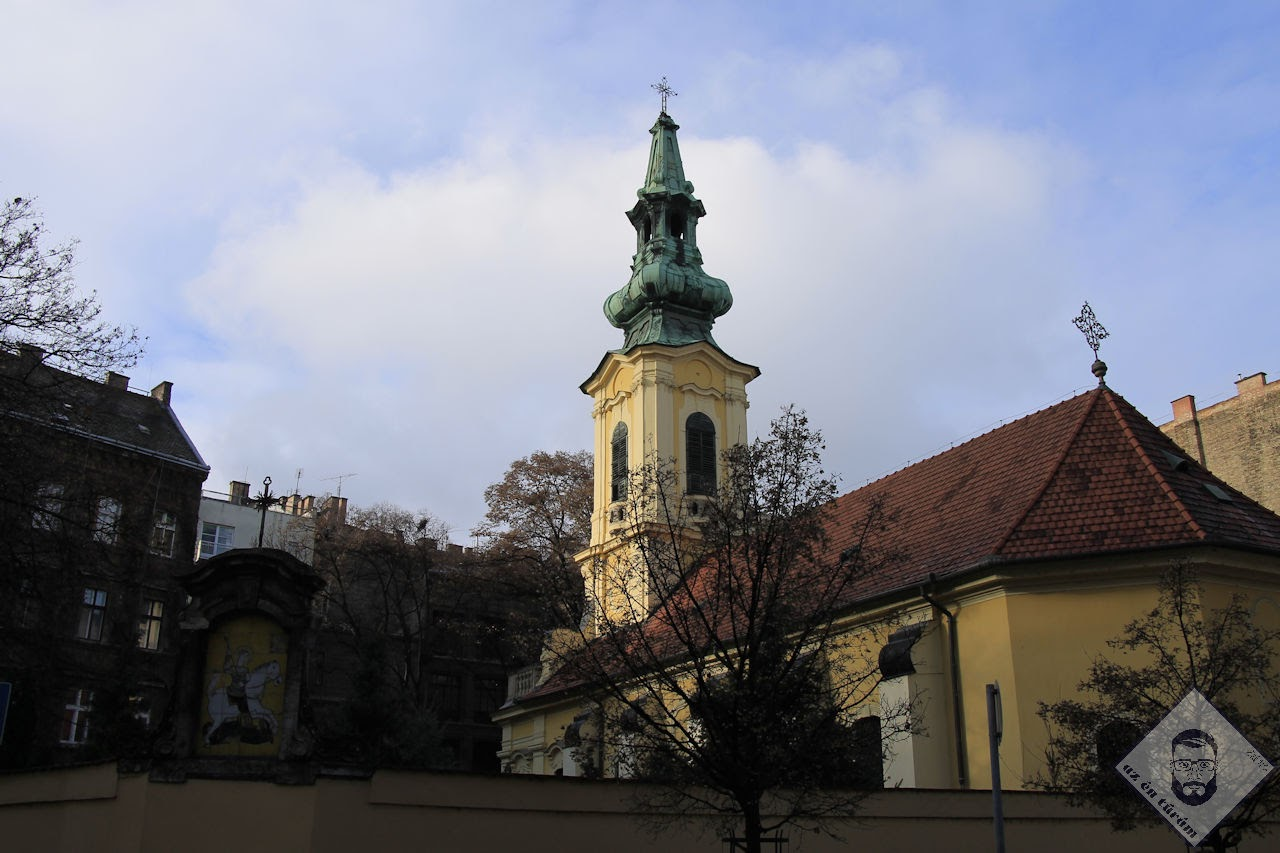 KÉP / Szent György nagyvértanú szerb ortodox templom
