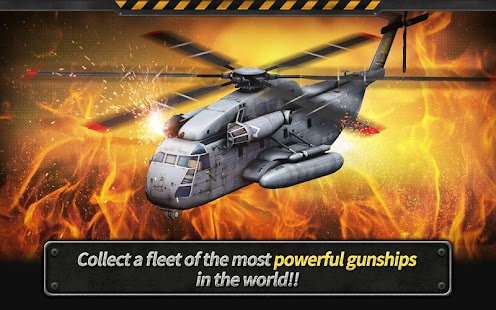 GUNSHIP BATTLE : Helicopter 3D- screenshot