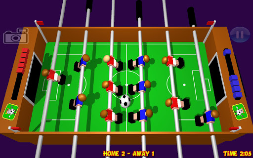 Table Football, Soccer 3D  captures d'u00e9cran 1