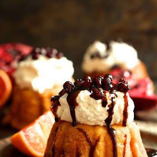 Blood Orange and Pomegranate Pound Cake