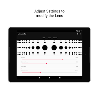 Lens Launcher Screenshot