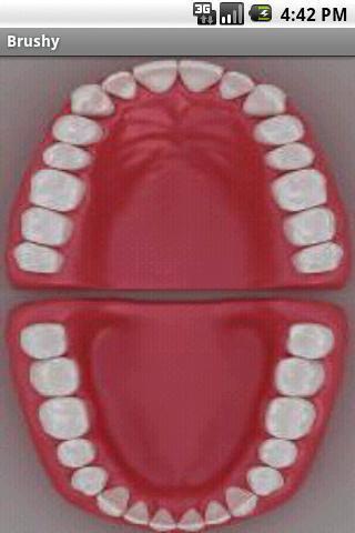 Brushy - Teeth brushing timer screenshot 2