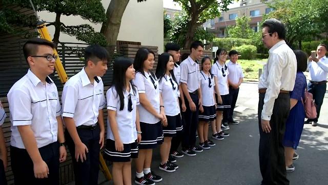 Đồng phục trường THPT phong cách trẻ trung chuyên nghiệp