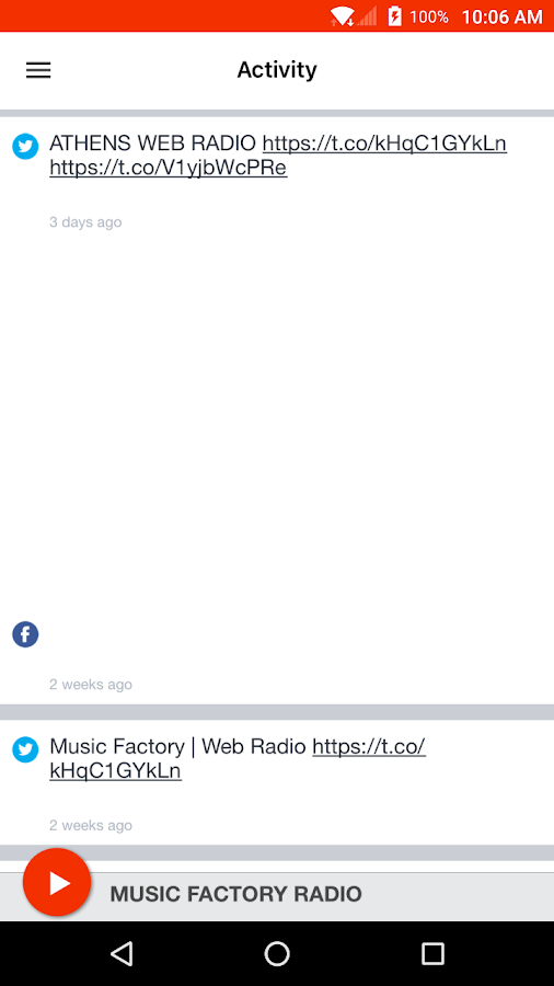 MUSIC FACTORY RADIO- screenshot
