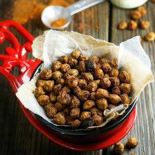 Cajun Spiced Crunchy Chickpeas
