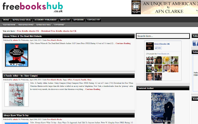 Freebookshub - Download Free eBooks for UK
