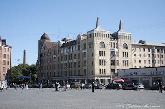 Photo: Бывший дом купца Ф. Москвина построен в 1907 г. по проекту Пааво Уотила.