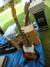 Photo: こちらmoリッキーズ館さんのNash Guitars。こちらがサブです。