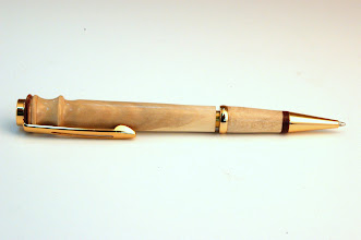 "Photo: Jerry Mauch - Longwood Pen - 5.5"" - big leaf maple (natural)"