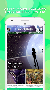 Caçadores Amino para Hunter x Hunter em Português - náhled