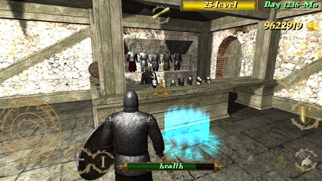 Screenshots of Deadly Medieval Arena for iPhone