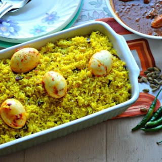 Bengali Egg Pilaf.